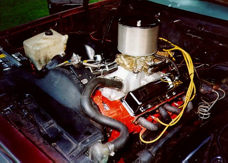 350 SBC that I put in the car in 1997