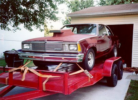 1997 Car on the Trailer